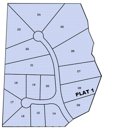 The Estates Plat