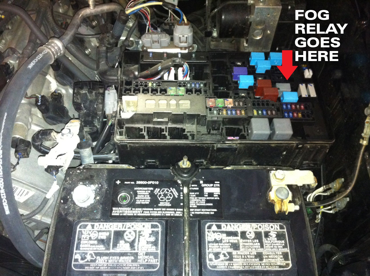 hight resolution of fuse panel tundrapart dot com foglight kit install tundratalk net toyota toyota tacoma trailer 2014 toyota tacoma fog pre wiring diagram 41 wiring