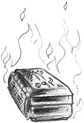 Book, Burning