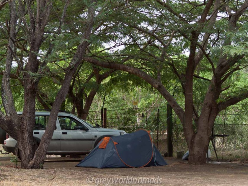 camping in the Kruger