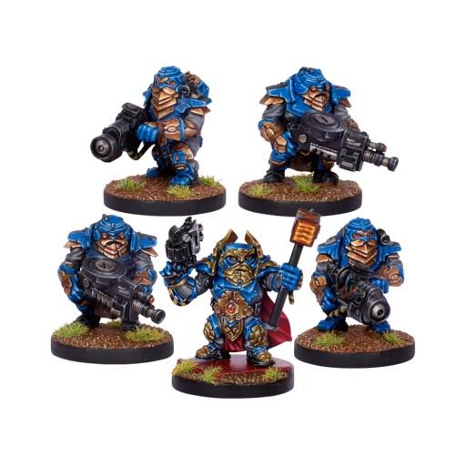 Five Space Marine Dwarves! I know, right?!