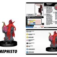 Marvel HeroClix: Superior Foes of Spider-Man - Mephisto Champion Figure - HeroClix by Wizkids Games