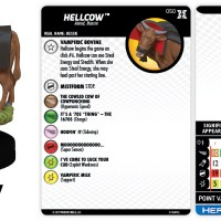 Marvel HeroClix: Deadpool and X-Force - Hellcow |…