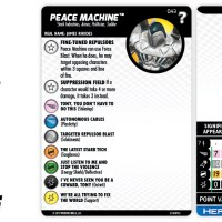 "Marvel HeroClix: ""What If...?"" - Peace Machine 