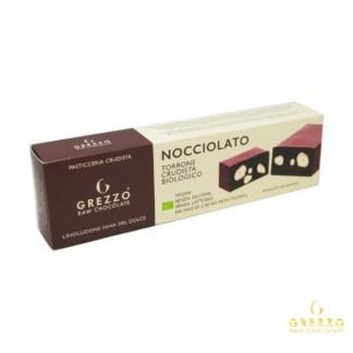 torrone nocciolato cioccolato crudo