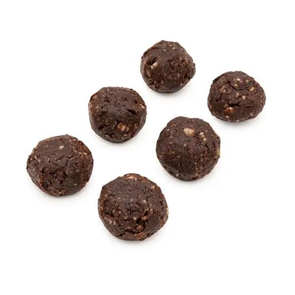 crudotti senza zucchero con mandorle e cacao crudo