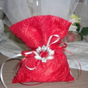 μπομπονιέρα-πουγκί-γάμος