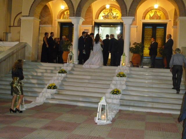 στολισμός γάμου στη ζωοδόχου πηγή στη λυκόβρυση αττικης