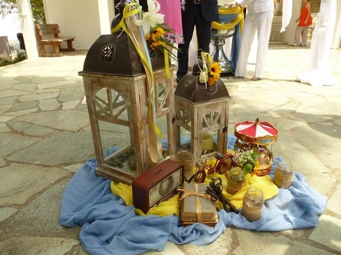 Βάπτιση σα παραμύθι στην εκκλησία Γενέσιον της Θεοτόκου στην Εκάλη