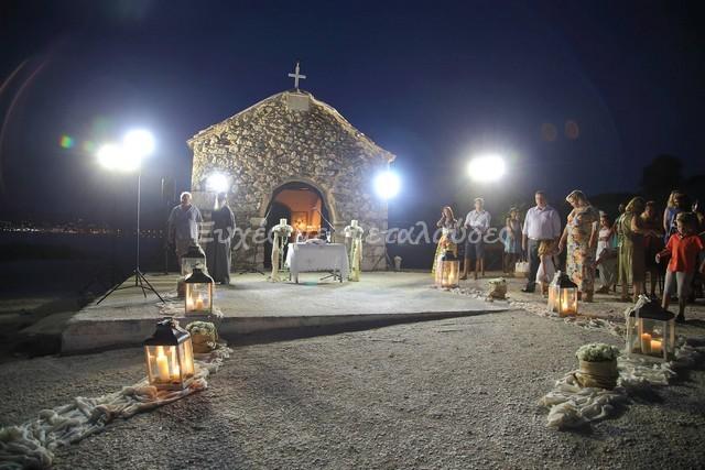 Στολισμός γάμου στον Άγιο Νικόλαο Αναβύσσου
