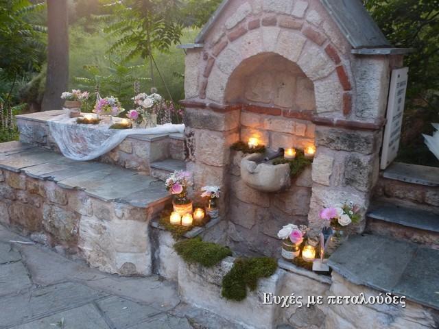 Στολισμός γάμου στην Αγία Φωτεινή Ιλισσού