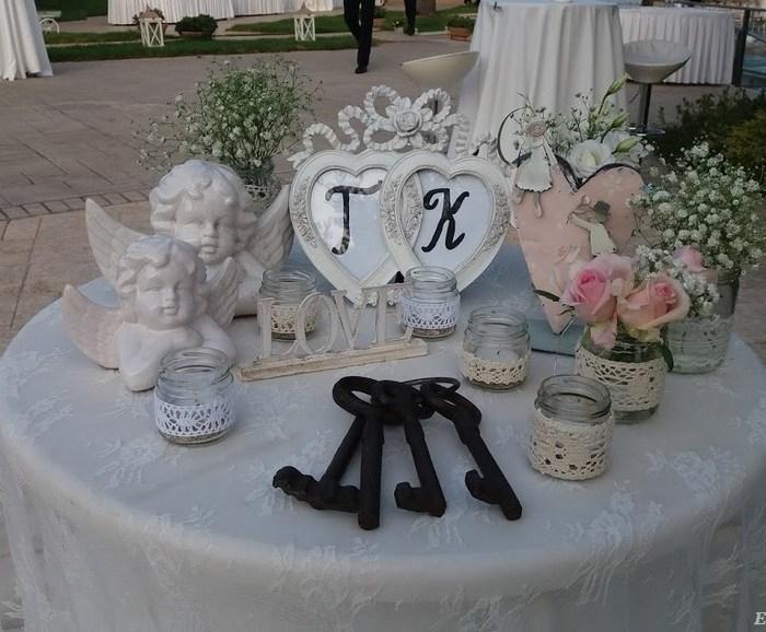 Στολισμός γάμου στο κτήμα Casarma