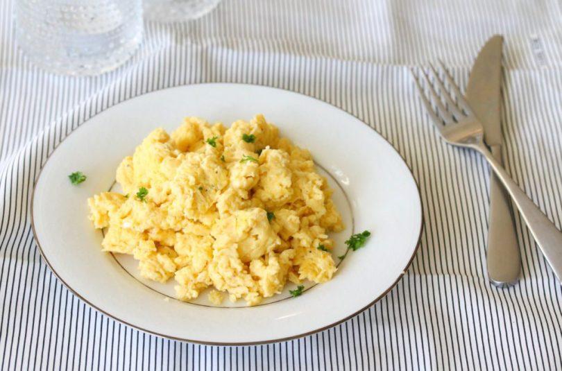 Besta eggjahræran!