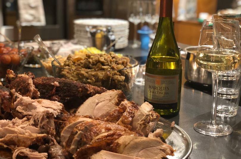 Marques de Casa Concha  Chardonnay – Fullkomið fuglavín!