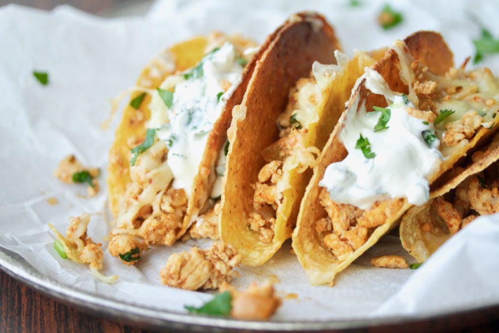 Stökkt chili taco