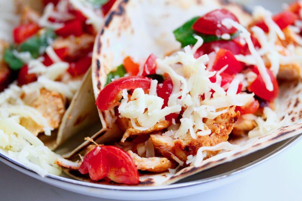 Fimm stjörnu kjúklinga-taco!