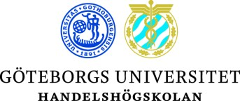 Handelshögskolan vid Göteborgs universitet logotyp