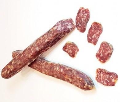 Сыровяленые колбасы из оленины