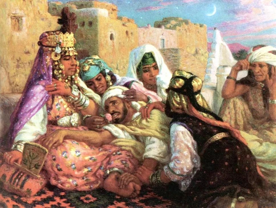 peinture  GRIC  Groupe de Recherche Islamo Chrtien