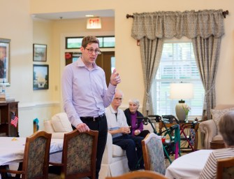Ralph Cowart of The Gardens Senior Living Provides Information to  Potential VA Benefit Candidates