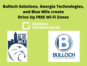 FREE Wi-Fi Zones by Bulloch Solutions, Georgia Technologies, Blue Mile, Northland