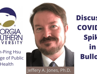 Georgia Southern's Jeffery Jones, Ph.D on Bulloch COVID-19 Surge