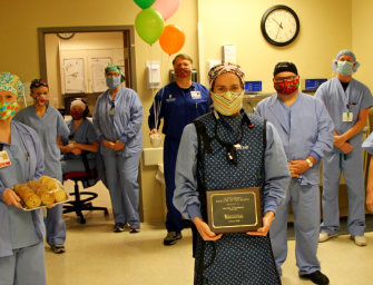Lauren Chambers Awarded EGRMC Employee of the Month for March