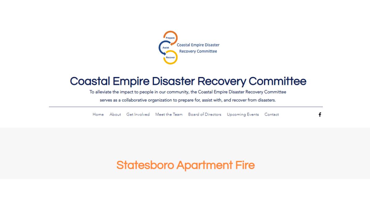 Coastal Empire Disaster Recovery Committee
