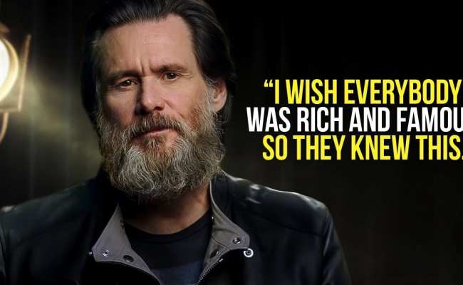 Jim Carrey Leaves The Audience Speechless One Of The