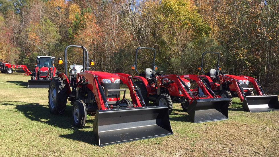 Massey Ferguson Tractor Fleet