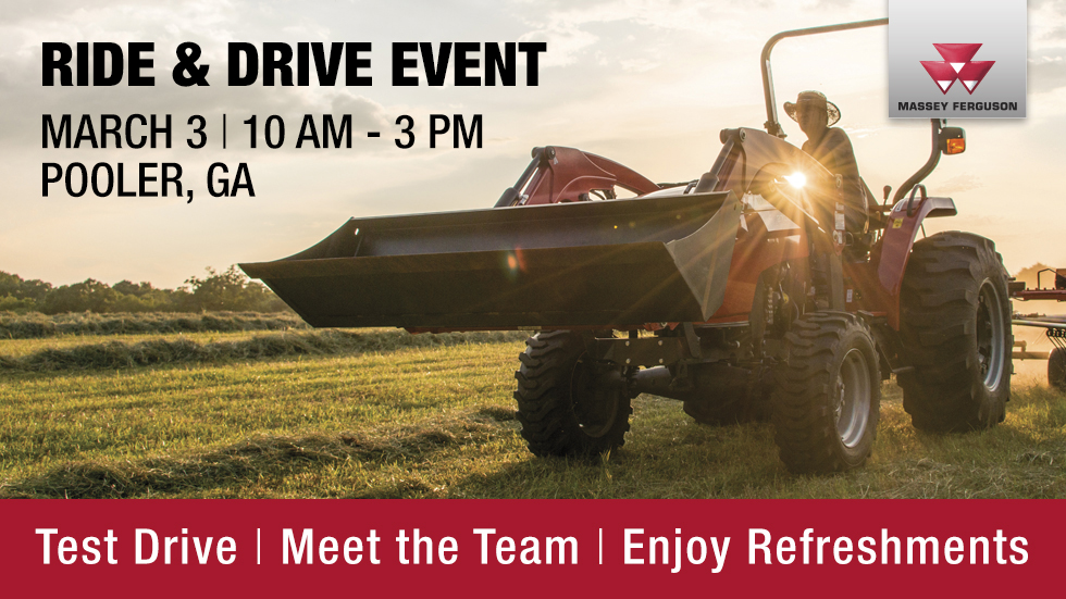 Gridiron Massey Ferguson Ride and Drive Event