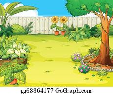Home Garden Clip Art Royalty Free GoGraph