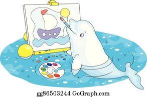Beluga Whale Clip Art Royalty Free GoGraph