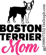 Download Boston Terrier Clip Art - Royalty Free - GoGraph