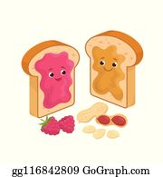 Peanut Butter Jelly Clip Art Royalty Free Gograph