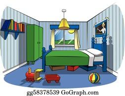 Bedroom Clip Art Royalty Free GoGraph