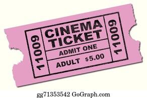 cinema ticket clip art