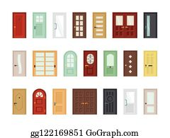 Clipart Close Door