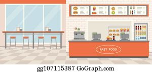 Restaurant Interior Clip Art Royalty Free GoGraph