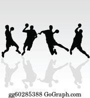 handball clip art royalty free gograph