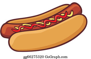 Hot Dog Clip Art Royalty Free Gograph