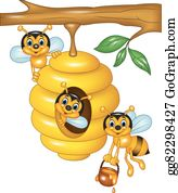 Beehive Clip Art Royalty Free Gograph