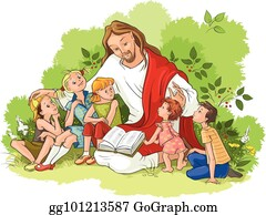 children praying clip art