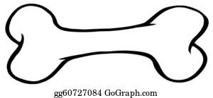 Bone Clip Art - Royalty Free - GoGraph