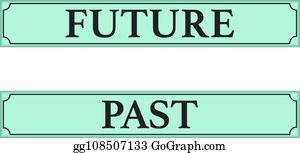 past future clip art