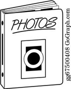 Photo Album Clipart : photo, album, clipart, Photo, Album, Royalty, GoGraph