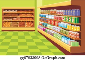 supermarket clipart clip vector drawings muesli illustration drawing food royalty gograph graphics eps line illustrations clipground fotosearch icon