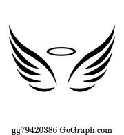 angel wings clip art