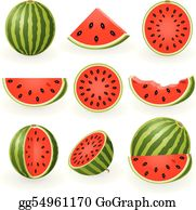 Watermelon Slice Clip Art Royalty Free GoGraph