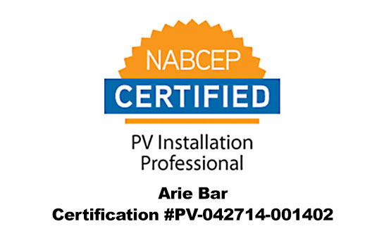 nabcep certified pv installer long island ny